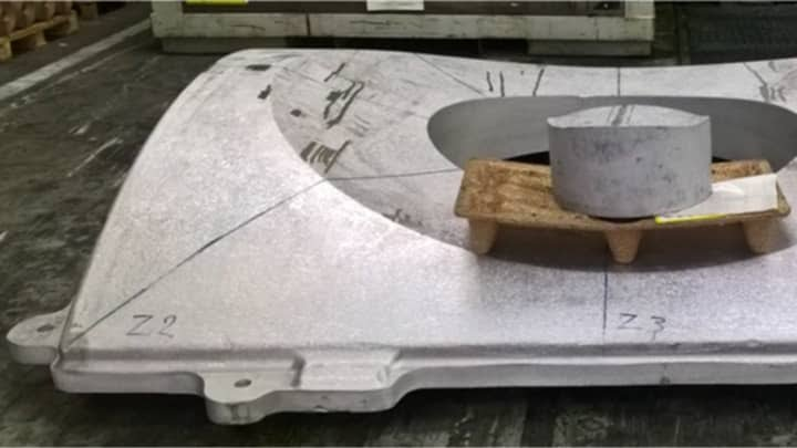 ONE TIME USE: Axiom Space bulkhead forging 210212 EC