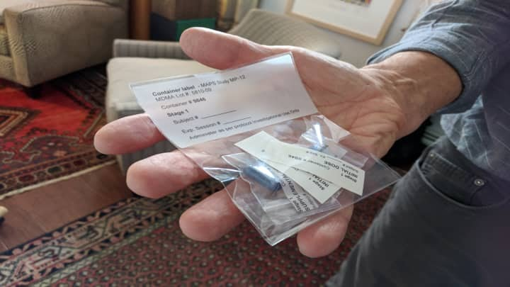 H/O: MDMA capsule for MAPS study