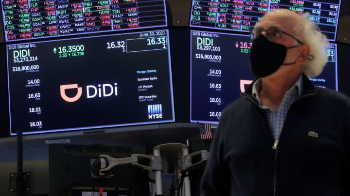 RT: DiDi IPO: China's Didi Global Inc. debuts on New York Stock Exchange