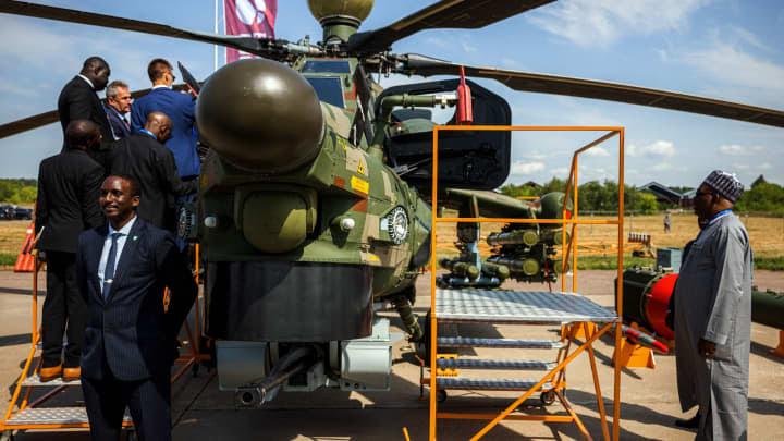 GP: 210910 Russia Nigeria arms exports EU